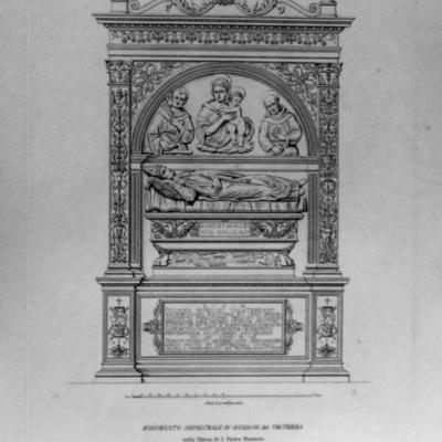 Monumento Sepolcrale di Giuliano da Volterra nella Chiesa di S. Pietro Montorio