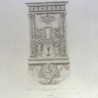 Ciborium nella Chiesa di S. Marco