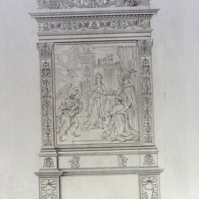 Altare nella Chiesa di S. Maria sopra Minerva