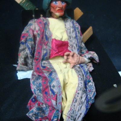 The Arabian Nights Puppets: Robber <br />