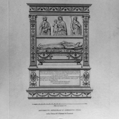 Monumento Sepolcrale di Meriaduca Cicala nella Chiesa di S. Giovanni di Geneveai