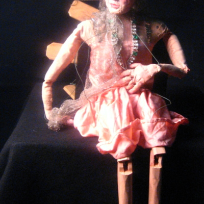 The Arabian Nights Puppets: Puppet 9