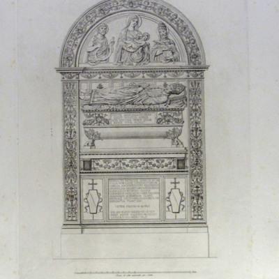 Monumento Sepolcrale di Benedetto Soranzo nella Chiesa di S. Maria Sopra Minerva
