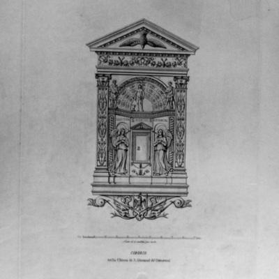 Ciborio nella Chiesa di S. Giovanni de Genevesi