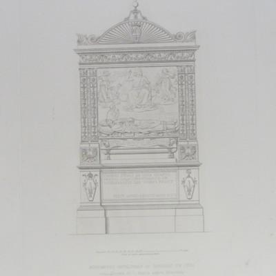 Monumento Sepolcrale di Giovanni de Coca nella Chiesa di S. Maria sopra Minerva