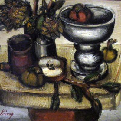 Still-Life Bowl of Fruit