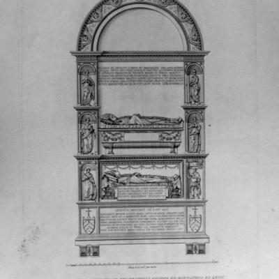Monumento Sepolcrale dei Fratelli Filippo ed Eustachio de Levis nella Basilica Liberiana