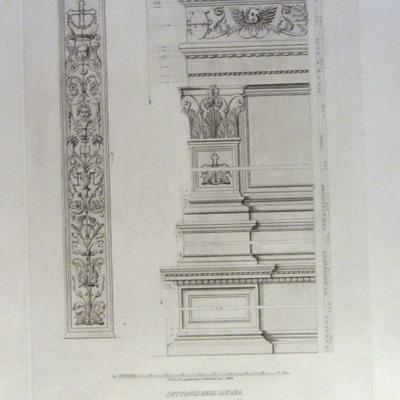 Dettagli dell'Altare nella Chiesa di S. Maria sopra Minerva