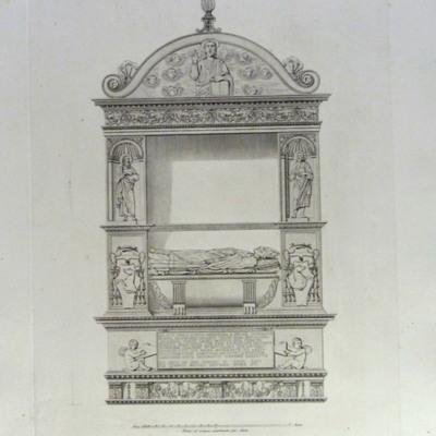 Monumento Sepolcrale di Giacomo Tebaldi nella Chiesa di S. Maria sopra Minerva