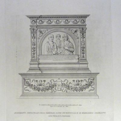 Monumento Sepolcrale della Famiglia Satri de Baronilli e di Maddalena Dearlotti nella Chiesa di S. Omobuono
